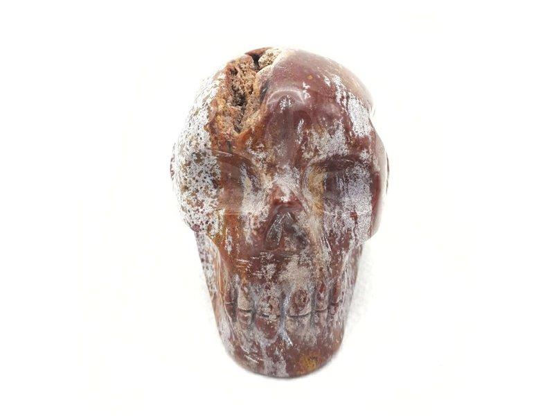 Kristallen Schedel Jaspis