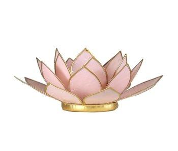 Waxinehouder Lotus - Roze