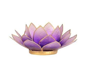 Waxinehouder Lotus - Violet