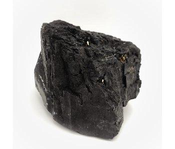Zwarte Toermalijn Brok Ruw L