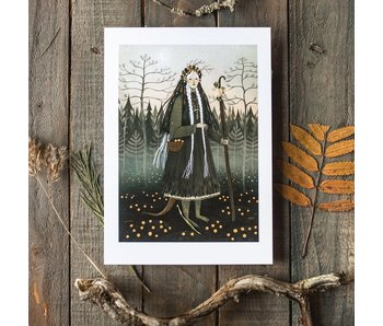 Print Karelian Creature
