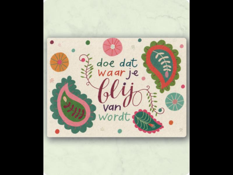 Zintenz Postkaart C48