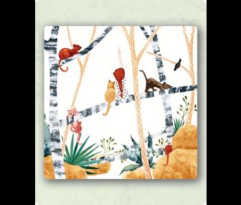 Zintenz postkaart met envelop LY11