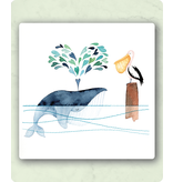 Zintenz postkaart met envelop LY50