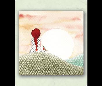 Zintenz postkaart met envelop LY35