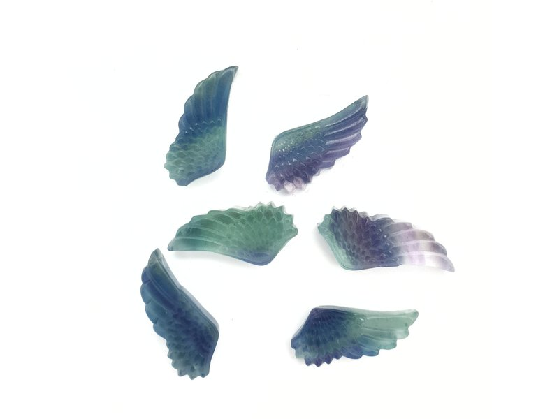 Amulet Fluoriet Engel Vleugel