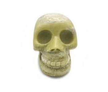 Schedel Skull Jade