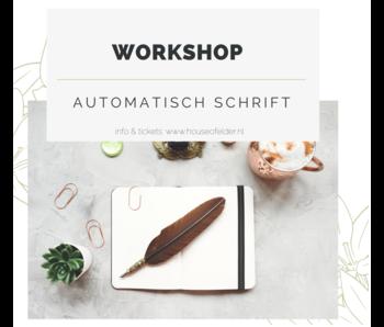 Workshop : Automatisch Schrift 24-7