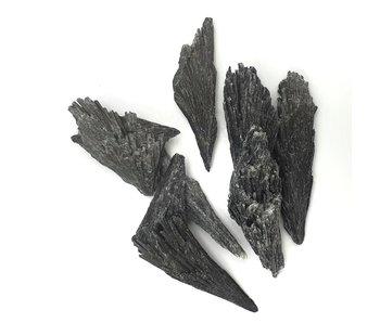 Zwarte Kyaniet Ruw L