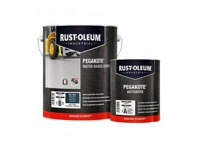 Rust-oleum Pegakote Epoxy Vloerverf voor binnen- 4 Kilo