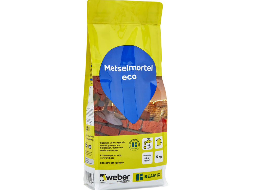 Weber Beamix Metselmortel eco - 5 Kilo