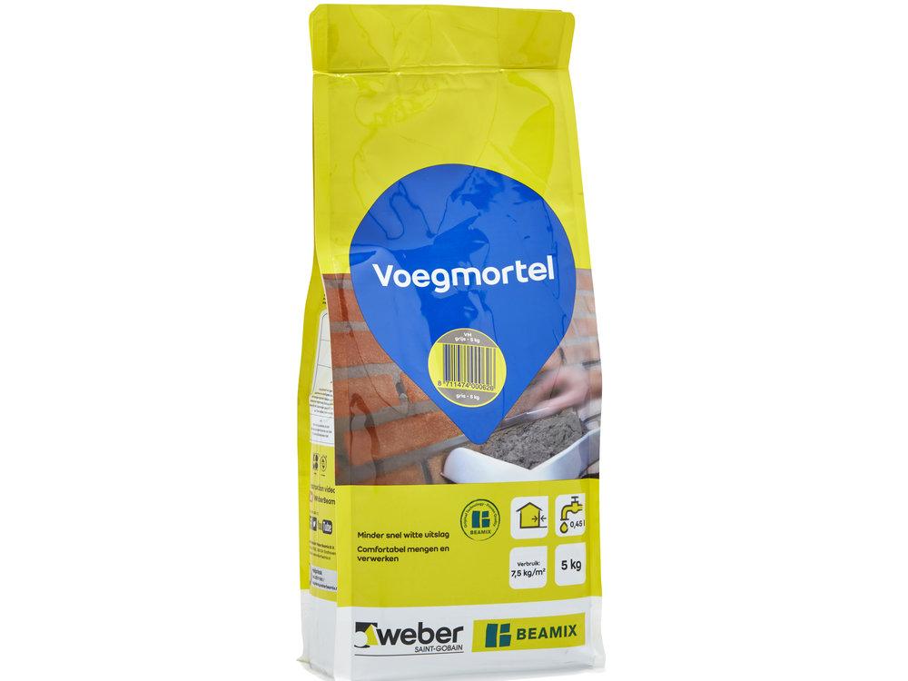 Weber Beamix Voegmortel voor metselwerk - 5 kilo