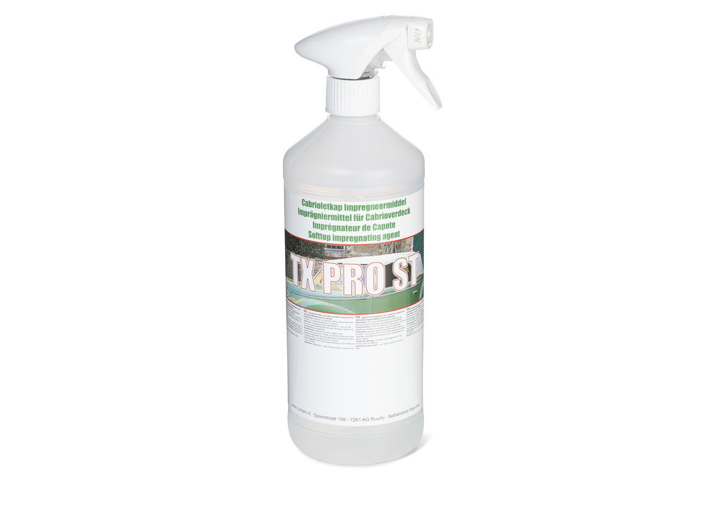 Ventosil PRO ST - Softtop impregneer - Spuitflacon (1 liter)