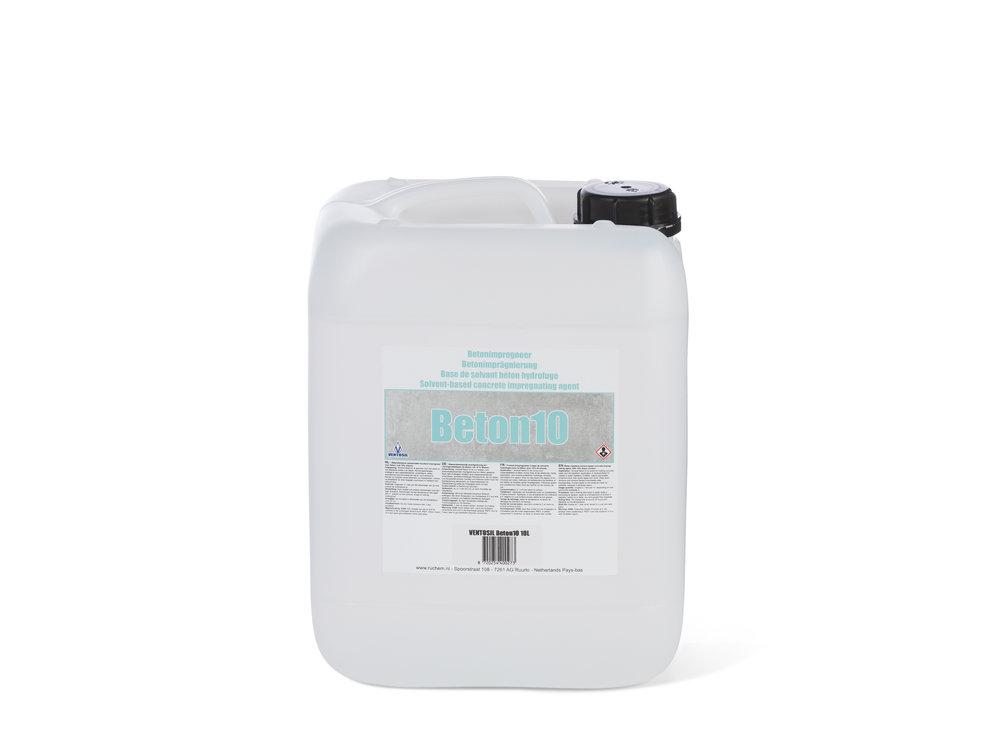 Ventosil Beton10 Beton impregneer - Oplosmiddelbasis - Water en Vuil Afstotend