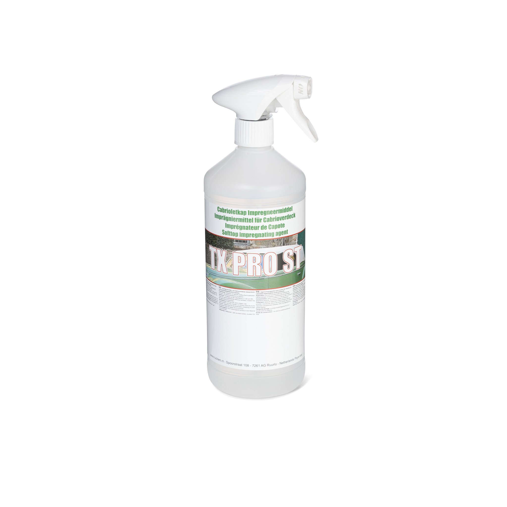 Softtop impregneer spray