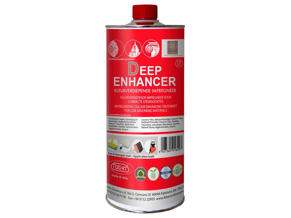 Faber Deep enhancer - Farbverstärkendes Imprägniermittel für harten Naturstein - 1 liter