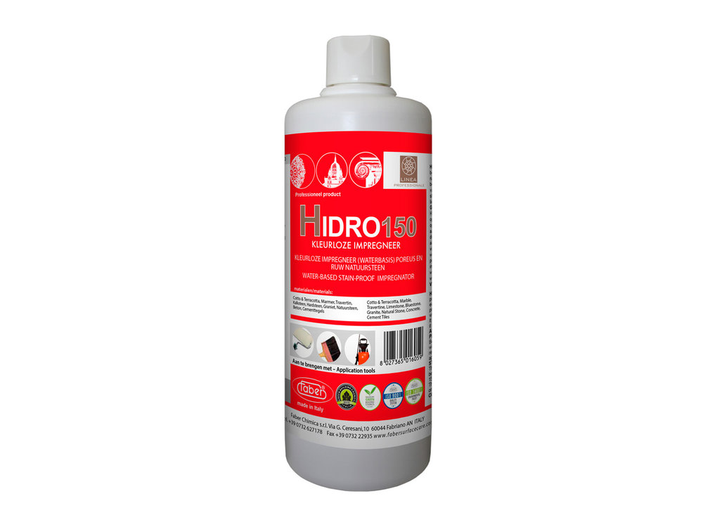 Faber Hidro 150 - vloer impregneer voor zachte steensoorten - 1 liter