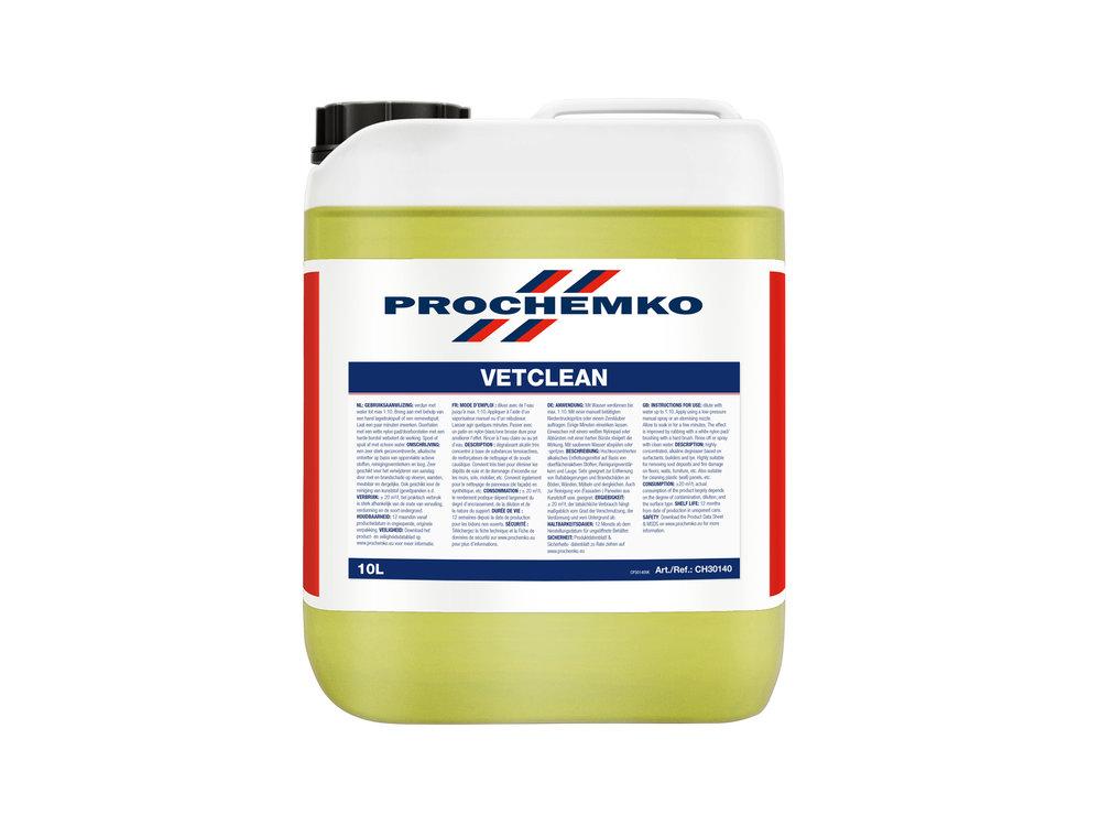 Prochemko Vetclean - 10 liter - ontvetter