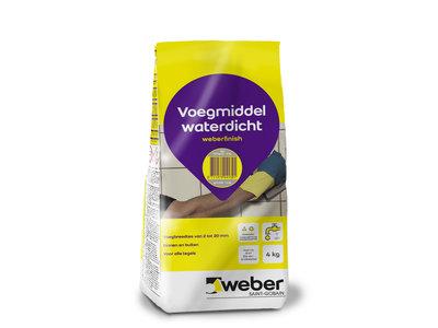 Weber Beamix Fugenmörtel Wasserdicht für Fliesen - 4 kilo