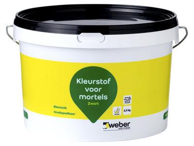 Weber Kleurstof voor Cement-, Kalk- en Gipsmortels