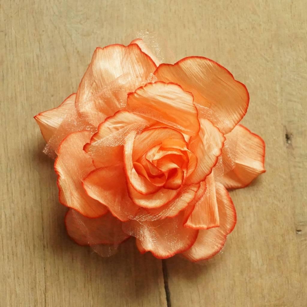 Oranje corsage