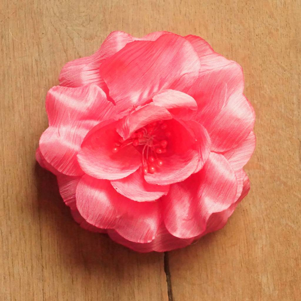 Roze corsage