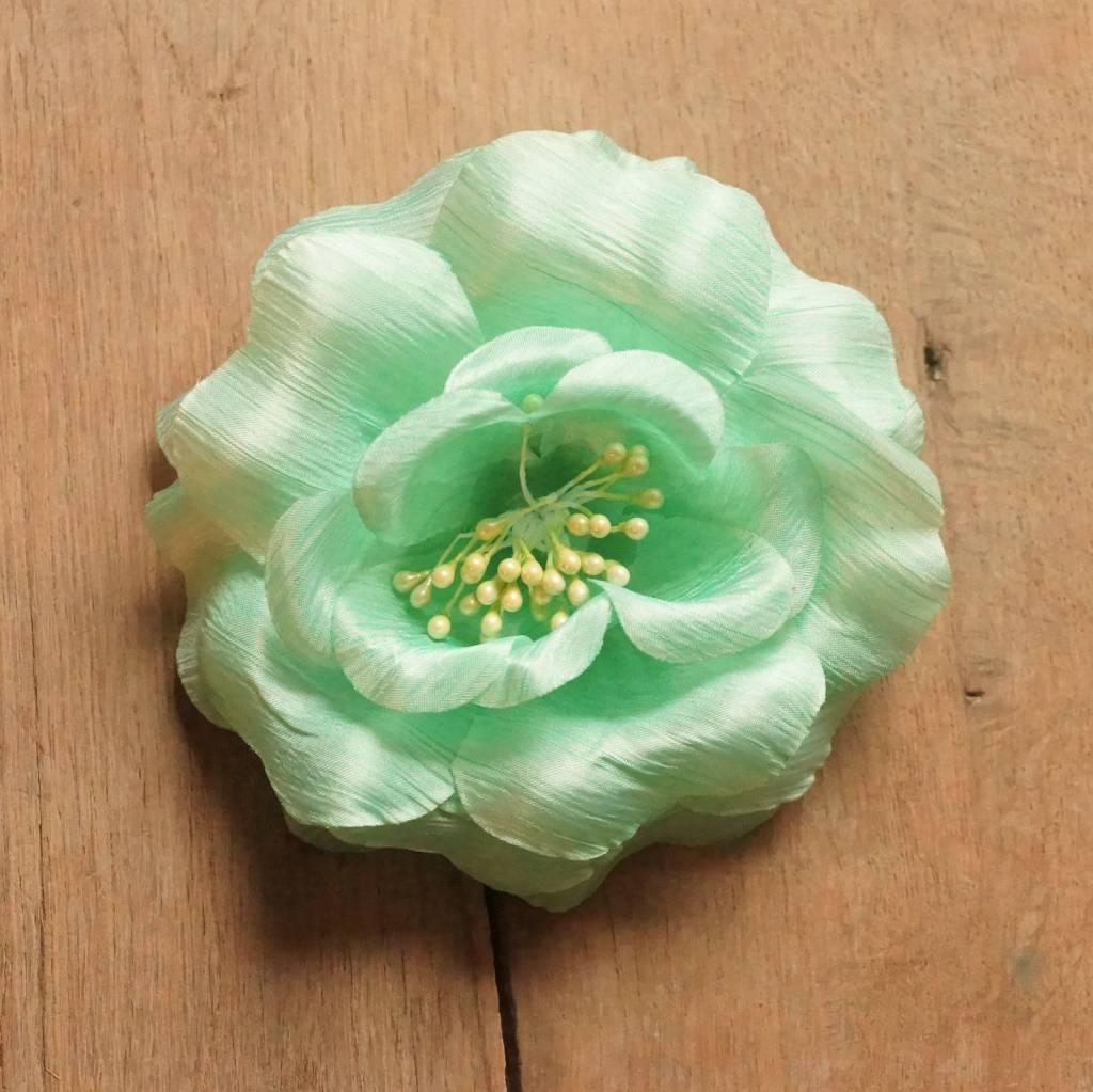 Mintgroene corsage