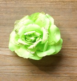 Fel groene corsage