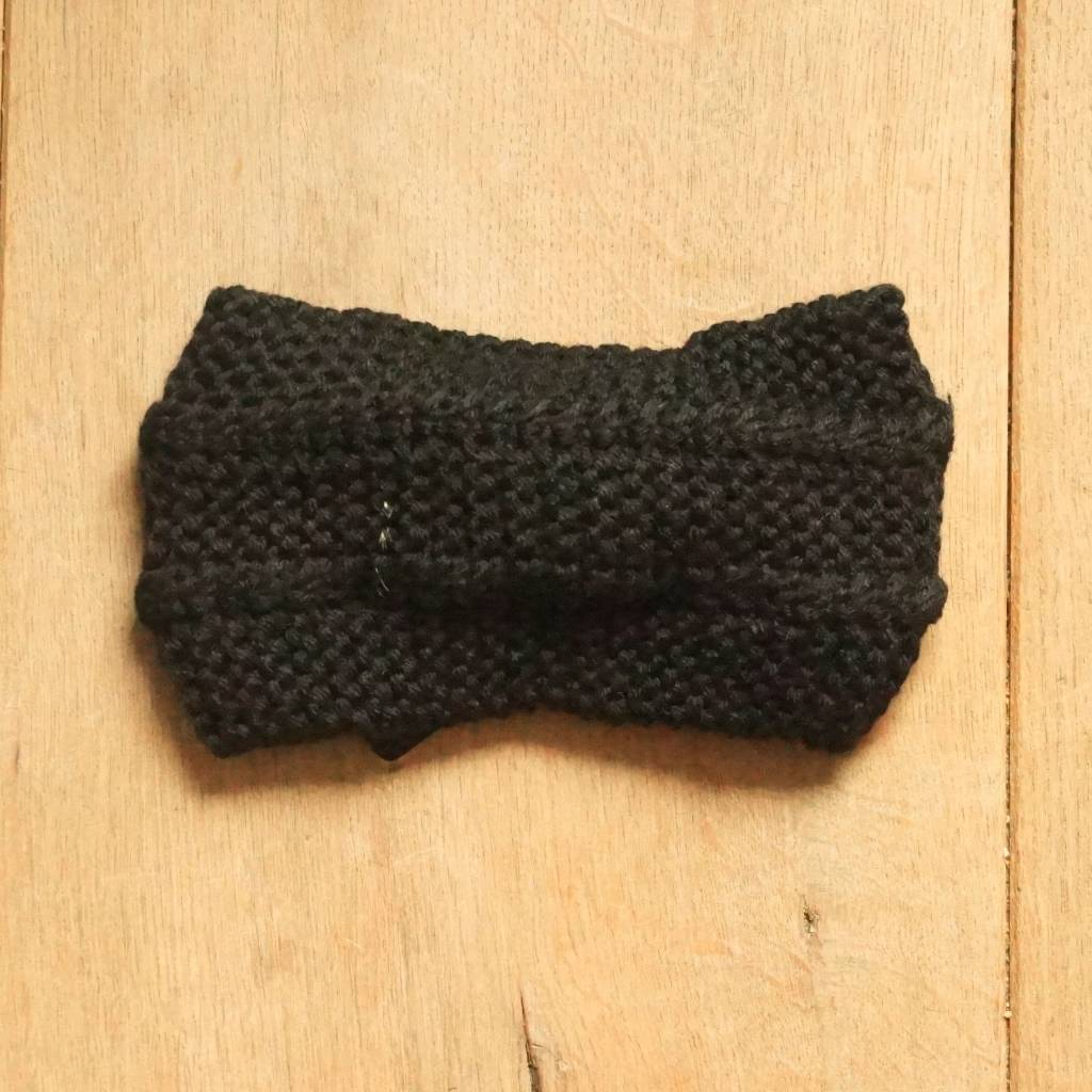 Zwarte hoofdband