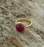 Treasure Rookie Ring Full Moon ruby