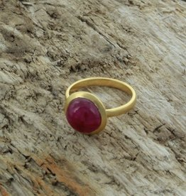 Treasure Rookie Ring Full Moon ruby