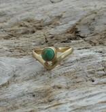 Treasure Rookie Sun kiss ring turquoise