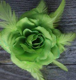 Groene bloem corsage