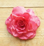 Luxe magenta roze corsage