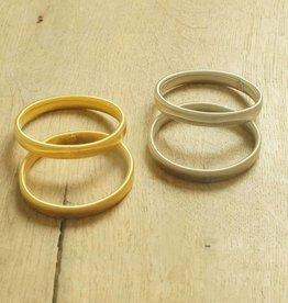 Mouwophouders (goud & zilverkleurig)
