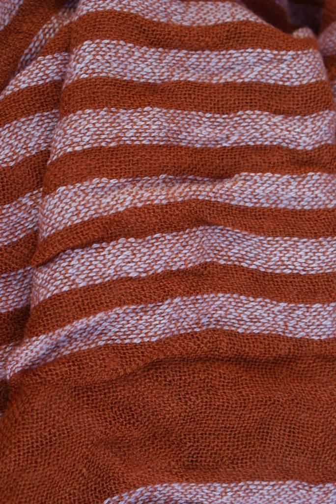 Oranje herensjaal