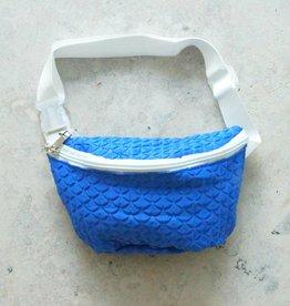Heuptasje kobalt blauw