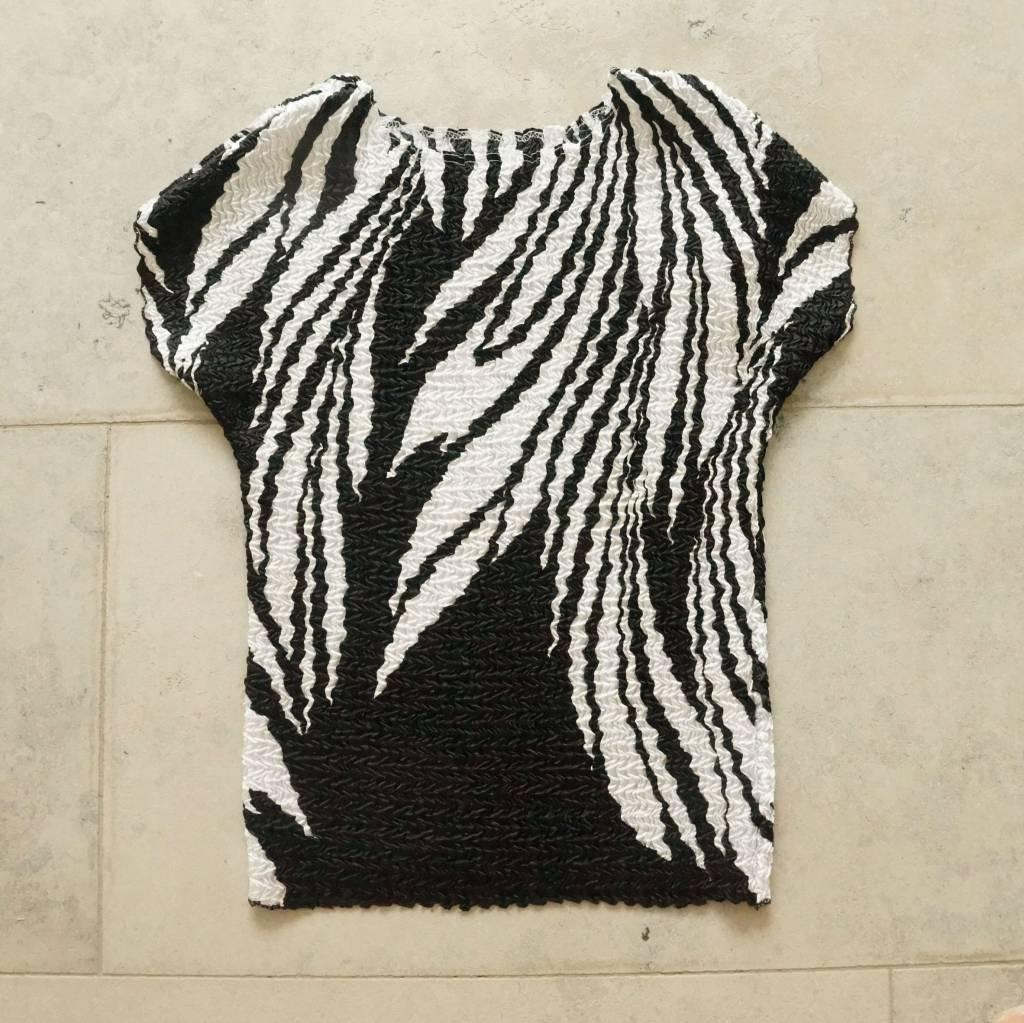 zwart wit bubbleshirt