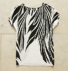 wit zwart bubbleshirt