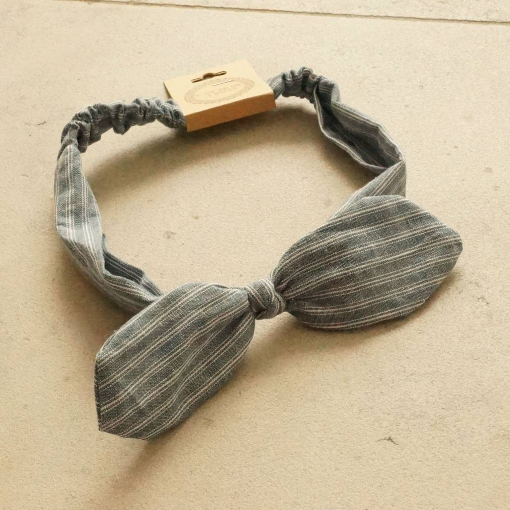Jeans bunny haarband