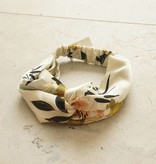 Haarband ecru botanic