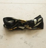 Haarband zwart botanic
