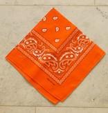 Oranje bandana