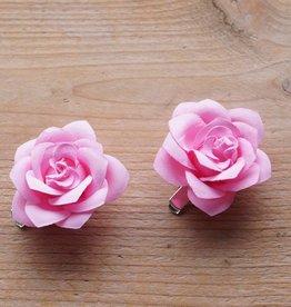 Licht roze bloemetjes (2 st)
