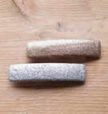 Zilver- en goudkleurige haarspeld (2st)