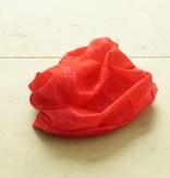 Rode brede haarband (multifunctioneel)