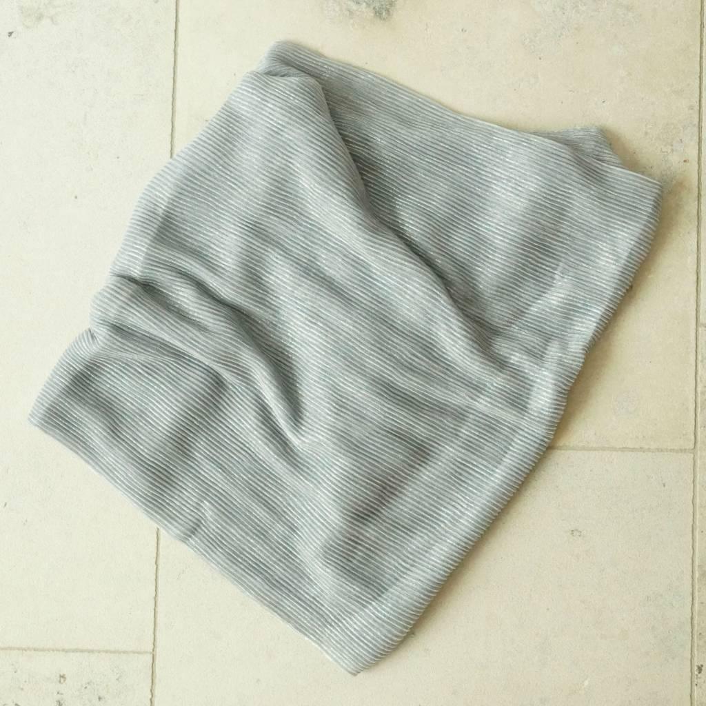 Zilverkleurige sjaal