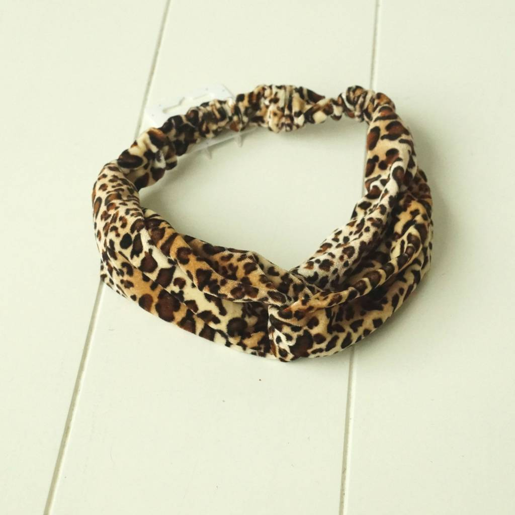 Haarband leopard