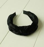Diadeem zwart fluweel