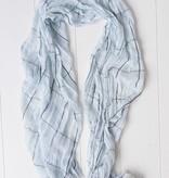 Herensjaal licht blauw